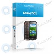 Reparatie pakket Samsung Galaxy 551 (i5510)