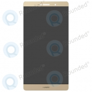 Huawei P8 Max Display module LCD + Digitizer gold