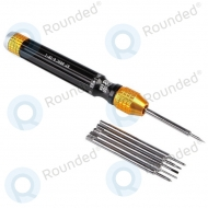 Best BST-889C Screwdriver 6in1 black