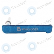 Samsung Galaxy K Zoom (SM-C111, SM-C115) Micro SD cover blue AD63-07928C