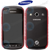 Samsung Galaxy Xcover 2 (GT-S7710) Display unit complete red incl. battery coverGH82-07237A