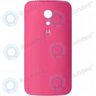 Motorola Moto G (2nd Gen), Moto G 2014, Moto G2 Battery cover pink 20DBU010005; SJHN1141A