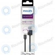Philips Lightning to USB cable 1 meter black DLC2404V/10 DLC2404V/10