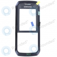 Samsung Xcover 550 (SM-B550H) Front cover grey incl. Display lens and side keys