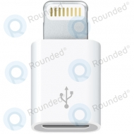 Apple Lightning to Micro USB adapter white MD820ZM/A MD820ZM/A