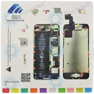 Magnetic screw mat for Apple iPhone 5C