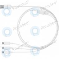 Samsung Multi charging cable 3in1 Micro USB white ET-TG900UWEGWW ET-TG900UWEGWW