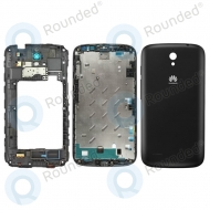Huawei Ascend G610 Cover black (Full set: front cover + middle cover + battery cover)