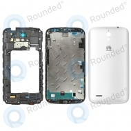 Huawei Ascend G610 Cover white (Full set: front cover + middle cover + battery cover)