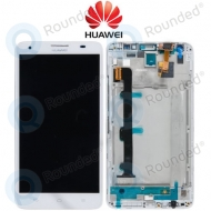 Huawei Ascend G750 (Honor 3X) Display unit complete white