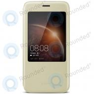 Huawei G8 View flip cover gold 51991199 51991199