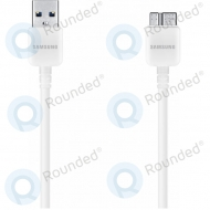 Samsung USB 3.0 Data cable white ET-DQ10Y0WE ET-DQ10Y0WE