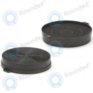 Bosch / Siemens  Active carbon filter DHZ5140, DHZ5146, LZ51400, Z5115X0 Diameter: 20cm (353121) 2pcs 00353121