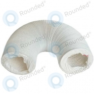 Exhaust air hose white Diameter: 8.2cm, 2.5 meter