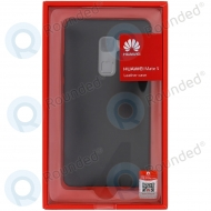 Huawei Mate S Leather hard case black