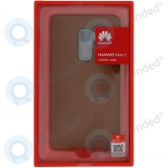 Huawei Mate S Leather hard case brown