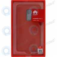 Huawei Mate S Leather hard case red