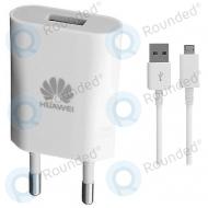 Huawei USB power adapter 1A white incl. Micro USB cable HW-050100E3W HW-050100E3W