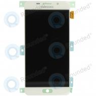 Samsung Galaxy A5 2016 (SM-A510F) Display unit complete whiteGH97-18250A