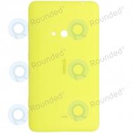 Nokia Lumia 625 Battery cover yellow 02504R3; 8003074