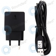 Huawei USB travel charger incl. microUSB data cable black HW-050100E2W HW-050100E2W