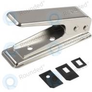 Sim card cutter - Nano sim cutter incl. adapters