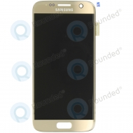 Samsung Galaxy S7 (SM-G930F) Display unit complete goldGH97-18523C