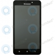 Lenovo A5000 Display module frontcover+lcd+digitizer black