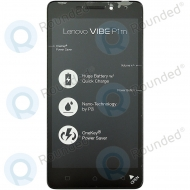 Lenovo Vibe P1m Display module frontcover+lcd+digitizer black