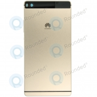 Huawei P8 Battery cover gold 02350GRT