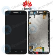 Huawei Ascend G620s Display module frontcover+lcd+digitizer black