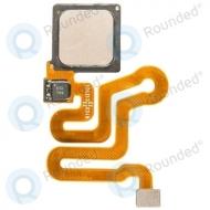 Huawei P9 Home button incl. Fingerprint flex gold