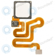 Huawei P9 Home button incl. Fingerprint flex white