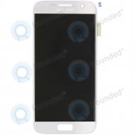 Samsung Galaxy S7 (SM-G930F) Display unit complete silverGH97-18523B