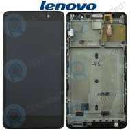 Lenovo S860 Display module frontcover+lcd+digitizer black