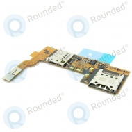 LG Optimus G Pro (E986) Sim reader + MicroSD reader incl. flex EBR76594801