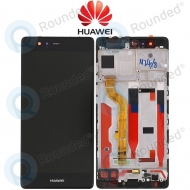Huawei P9 Display module frontcover+lcd+digitizer black
