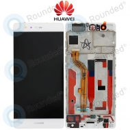 Huawei P9 Display module frontcover+lcd+digitizer white