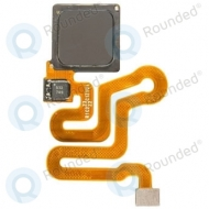Huawei P9 Home button incl. Fingerprint flex grey