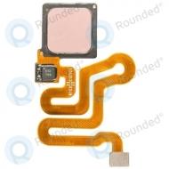 Huawei P9 Home button incl. Fingerprint flex rose gold