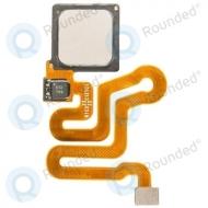 Huawei P9 Home button incl. Fingerprint flex silver