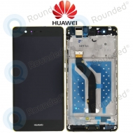 Huawei P9 Lite Display module frontcover+lcd+digitizer black
