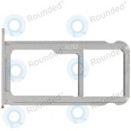 Huawei P9 Sim tray silver/white