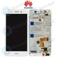 Huawei GR3 Display module frontcover+lcd+digitizer white
