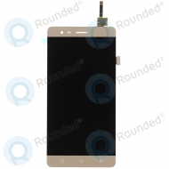 Lenovo K5 Note Display module LCD + Digitizer gold