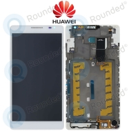 Huawei Ascend P1 Display module frontcover+lcd+digitizer white