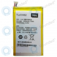 Alcatel Pop S9, Hero N3 Battery TLp034B1 TLp034B2 3400mAh TLp034B1; TLp034B2
