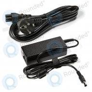 Classic PSE50016 Power supply with cord (15V, 5.00A, 75W, C6, 6.5x4.3x10mm) PSE50016 EU