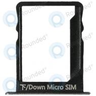 Huawei P8 Lite Sim tray black 51660TFN