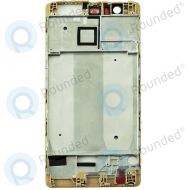 Huawei P9 Lite Front cover gold
